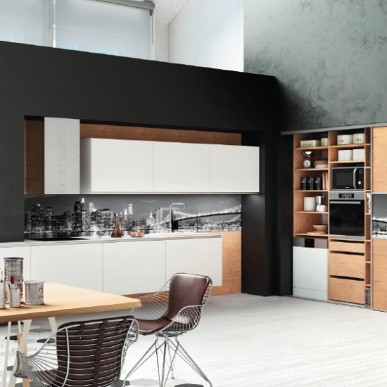 Cuisine design hanae sur mesure moderne haut de gamme - Cuisine moderne sur mesure ...