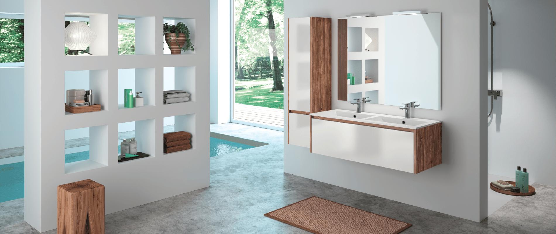 Salle de bain haut de gamme meubles sur mesure marque for Meuble de qualite