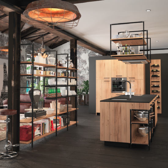 Stunning cuisine design industriel pictures lalawgroup for Cuisine design industriel