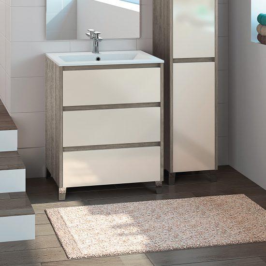 salle de bains aeris design épuré