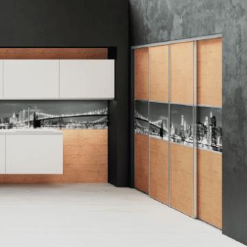Meubles de rangement sur mesure cuisine gaia fabricant for Qualite meuble cuisine plus