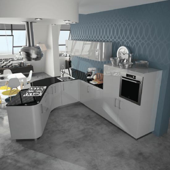 cuisine haut de gamme contemporaine alicante 4 sur. Black Bedroom Furniture Sets. Home Design Ideas