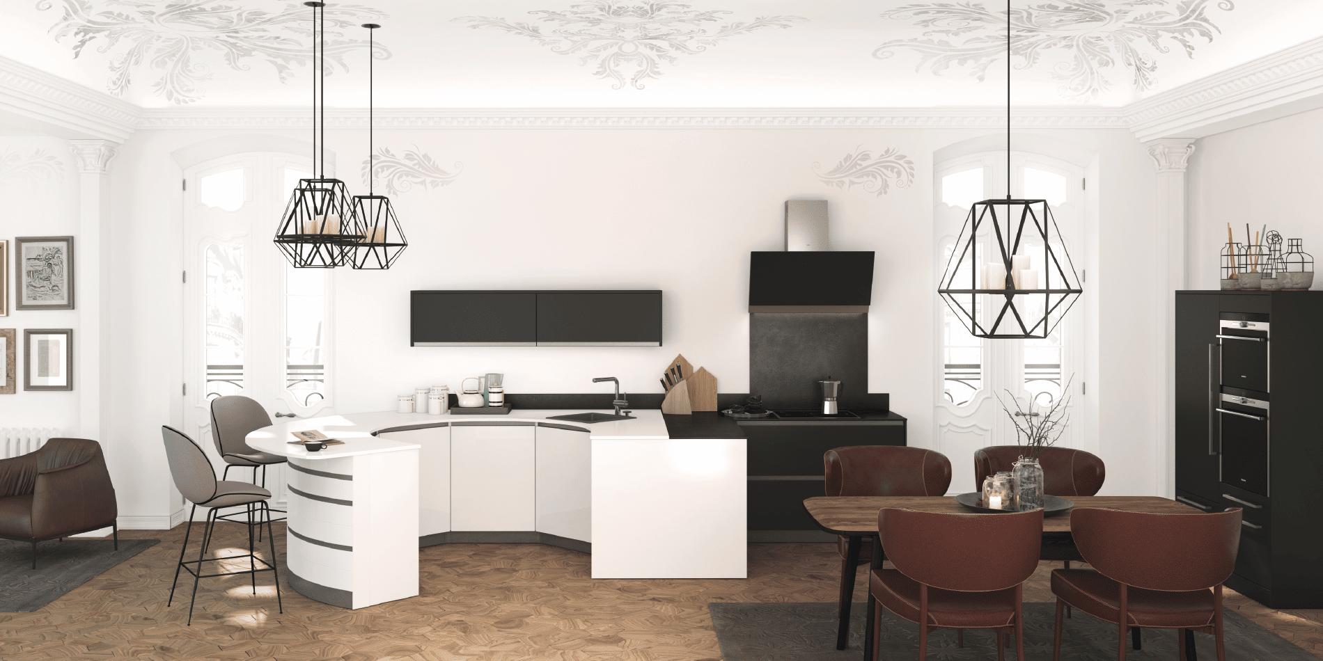 Cuisine design alicante zenit qualit haut de gamme moderne sur mesure - Fabricant cuisine haut de gamme ...
