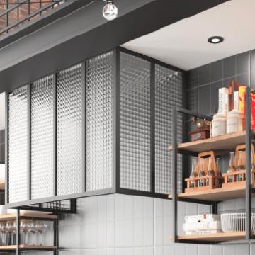 Ga a design ind cuisines morel - Meuble cuisine en metal ...