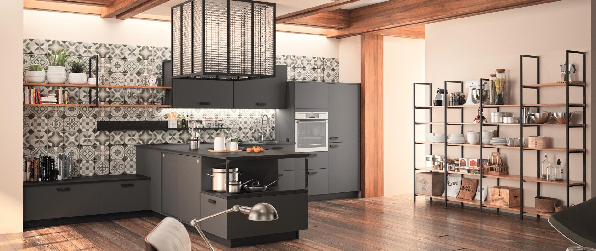 zenit design ind cuisines morel. Black Bedroom Furniture Sets. Home Design Ideas