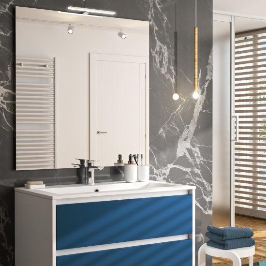 salle de bains zaho bleue océan haut de gamme contemporaine design