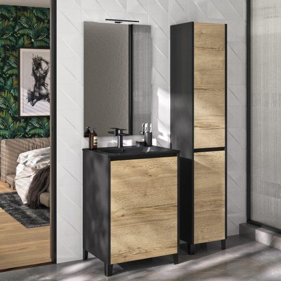 salle de bains suzy chêne halifax haut de gamme moderne