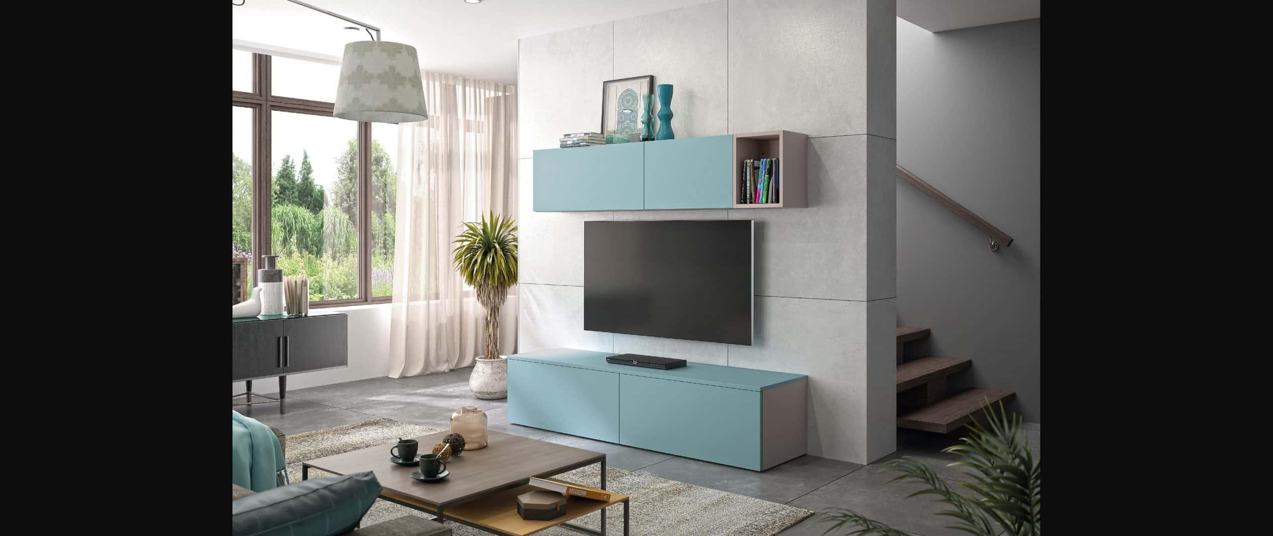living zaho moderne tendance bleu