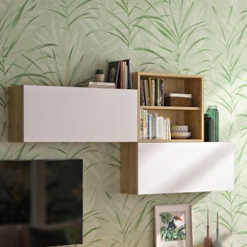 living zenit contemporain blanc bois